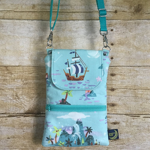 Phone crossbody - mermaid island