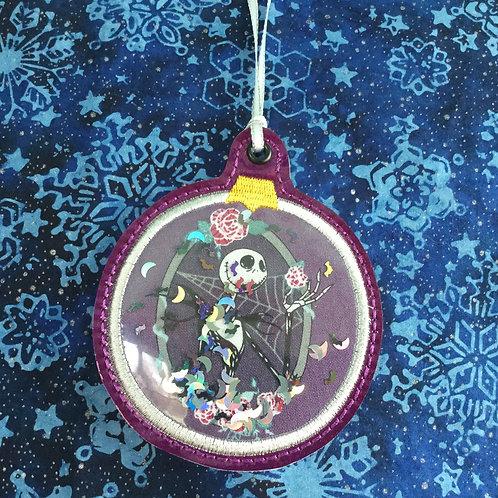 Snow Globe ornament - Skeleton King