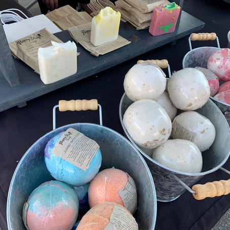 5 Must Stop Booths at the New Buffalo Farmer's Market