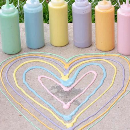 4 Creative Chalk Ideas for Kids