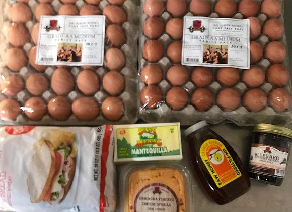 60 ct Family pack Medium Eggs Box#8