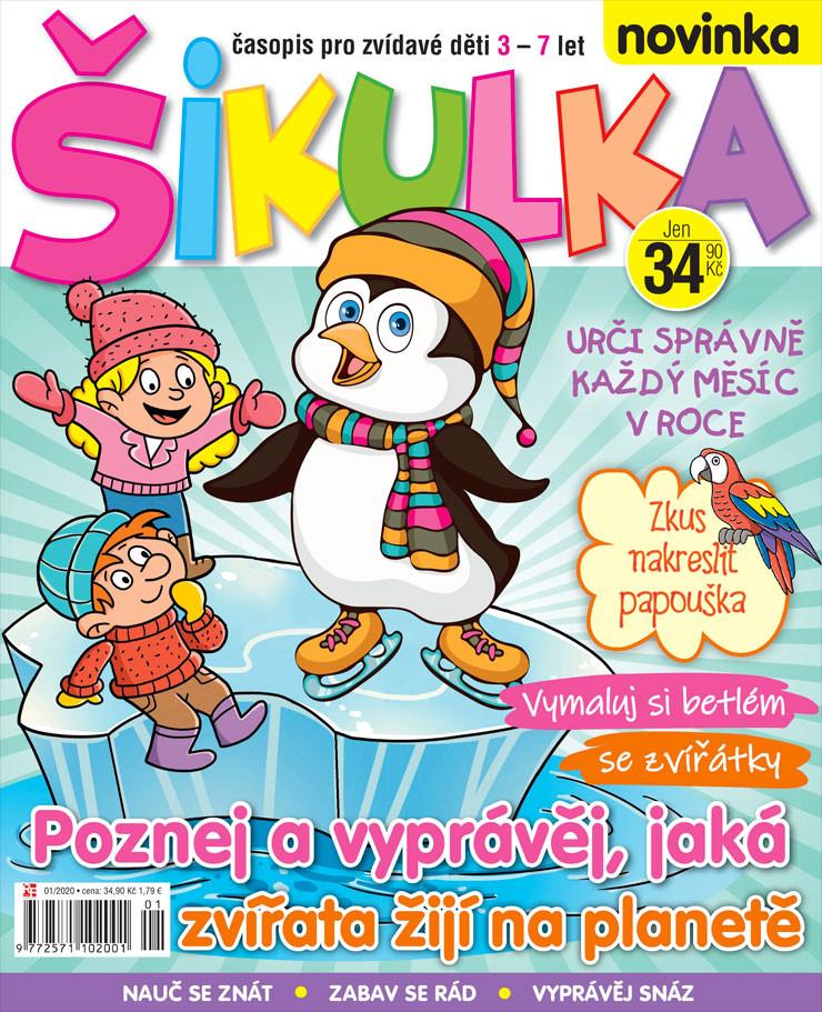 Prosincové číslo 2019 časopisu Šikulka