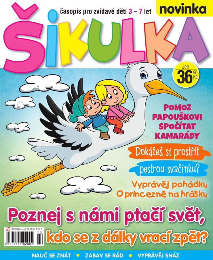 Únorové číslo 2020 časopisu Šikulka