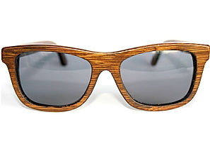 Benjees Los Angeles Waikiki natural bamboo sunglasses polarized eyewear