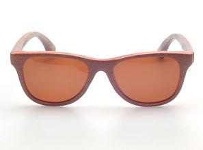 Benjees Los Angeles Waikiki natural bamboo sunglasses polarized eyewear