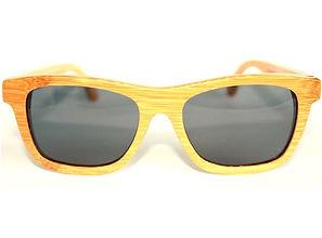 Benjees Los Angeles Bondi natural bamboo sunglasses polarized eyewear