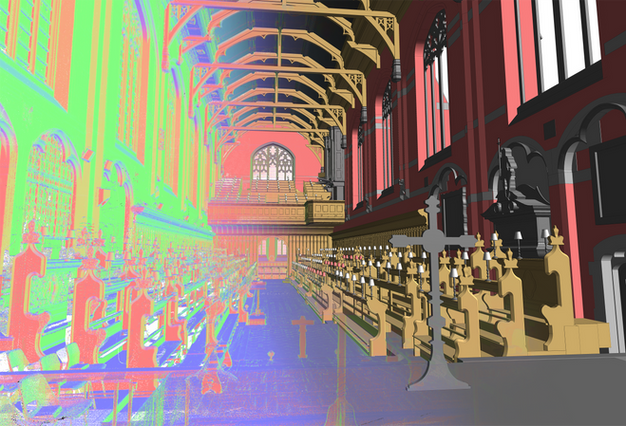 3D S&V Project: Radley College, Oxfordshire