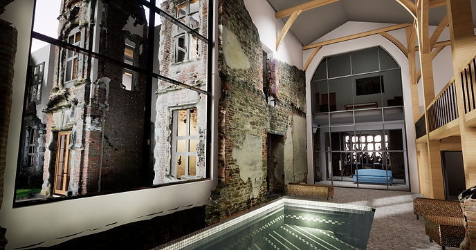 3D S&V Project: Houghton House, Bedfordshire