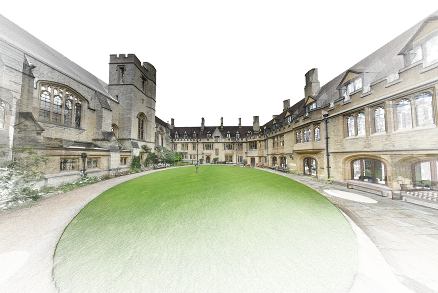 3D S&V Project: St Cross College, Oxford