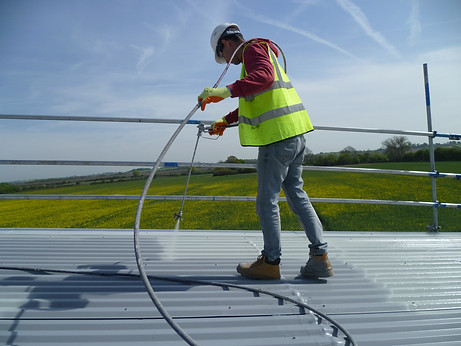 Industrial Roofing Project