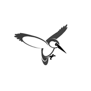 KCC Logo - Bird (B&W).png