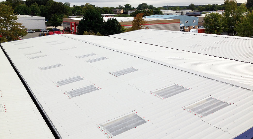 Industrial Roof Overclad