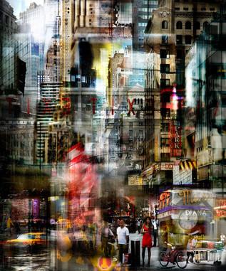 NEW YORK UNDER THE RAIN