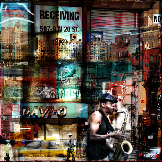 LE SAXOPHONISTE _ NEW YORK