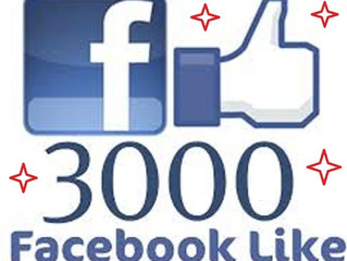 3000+ Likes Reached on FB!