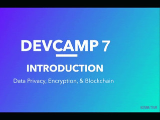 Our World Are Proud To Announce We Are Currently Attending Holochain DevCamp 7