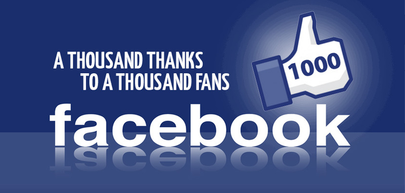 Over 1000 Likes Reached! :)