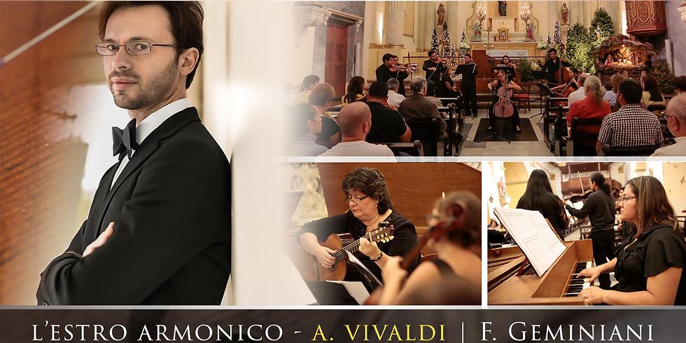 Violinista en Concierto - Altar de Oro