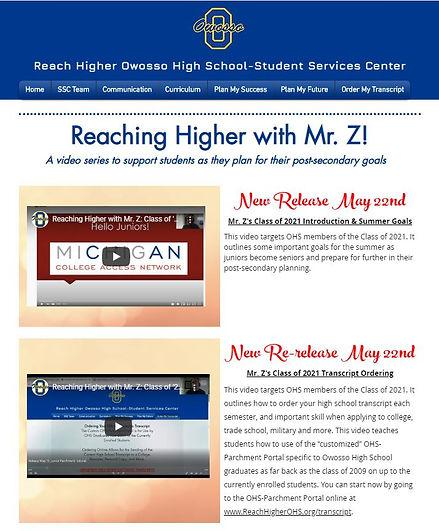 Mr Z Videos for Juniors.JPG