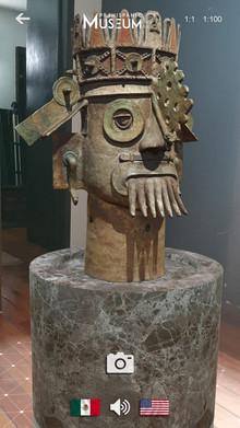 Ya está disponible la app de Realidad Aumentada.  Prehispanic Museum AR
