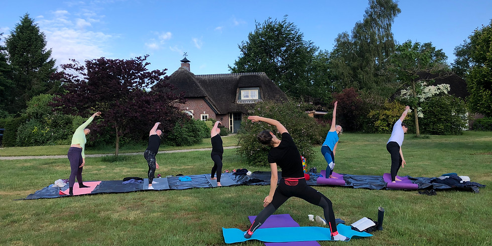 AANMELDING GESLOTEN 3-daags retreat - Ontspanning door beweging