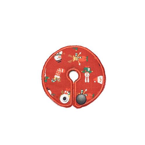 クリスマスペグカバー(赤)
