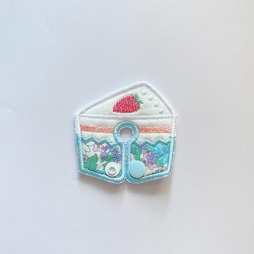 花柄のショートケーペグカバー