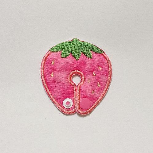 ピンクのいちご ペグカバー