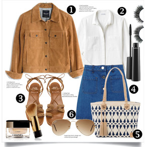 Jeans Skirt!