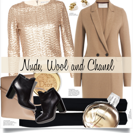NUDE, WOOL AND CHANEL!