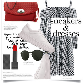 SNEAKERS & DRESSES