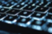 gloeiende Keyboard
