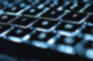 輝くキーボード