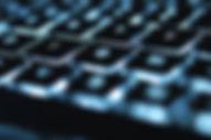 glødende tastatur