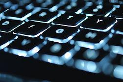 發光的鍵盤
