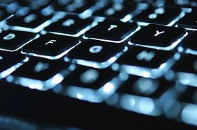 Leuchtende Tastatur