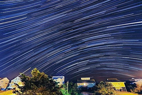 Emerald Isle Star Trails