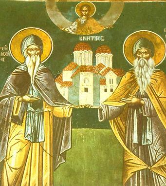 Икона Феофана и Метеорских