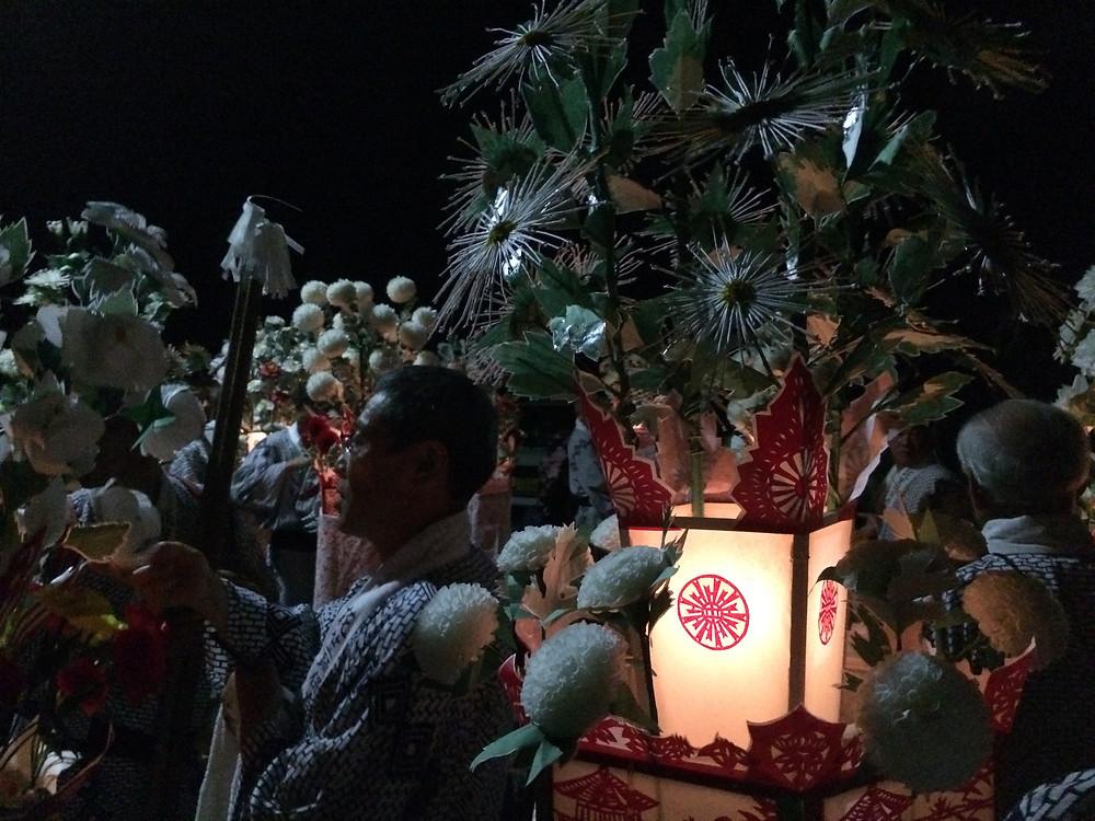 久多:花笠踊 2017img