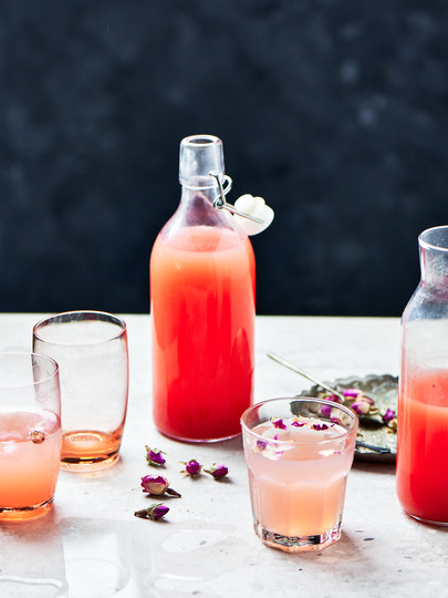Rose water drinks photography .jpg