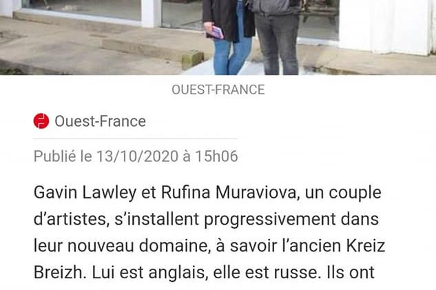 Ouest France Mael Carhaix