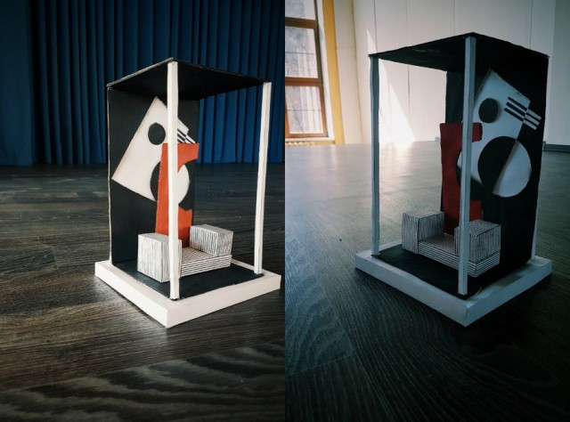 Сouch of alliance - Art project of Valery Larionova and Maria Efimenkova  , students of Academy of Contemporary Art, Yekaterinburg, Russia.