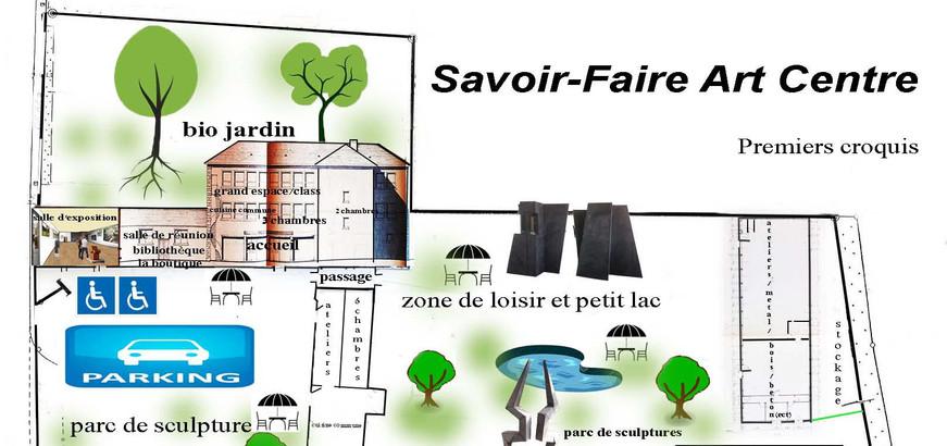 Savoir-Faire Art Centre , Maël-Carhaix, Bretagne, France