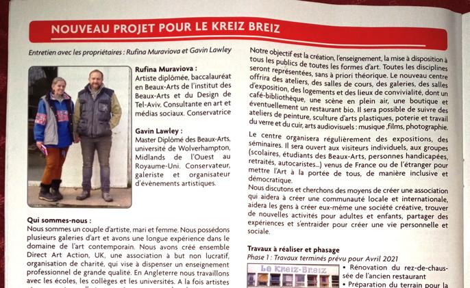 Mael Carhaix Bullitin 2020-2021