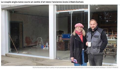 Ouest France Mael Carhaix Rufina Gavin.j