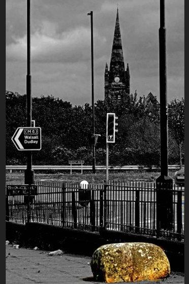 West Midlands, UK, Dudley Junction,