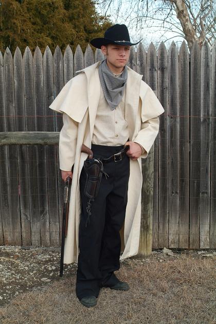 Camas Prairie Rider Duster #M011