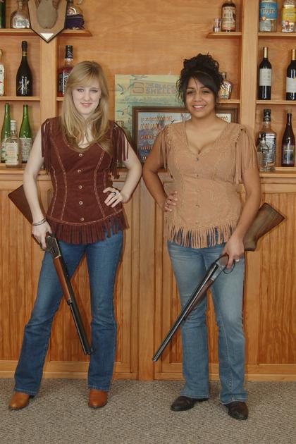 Woman's Western Vest #W028
