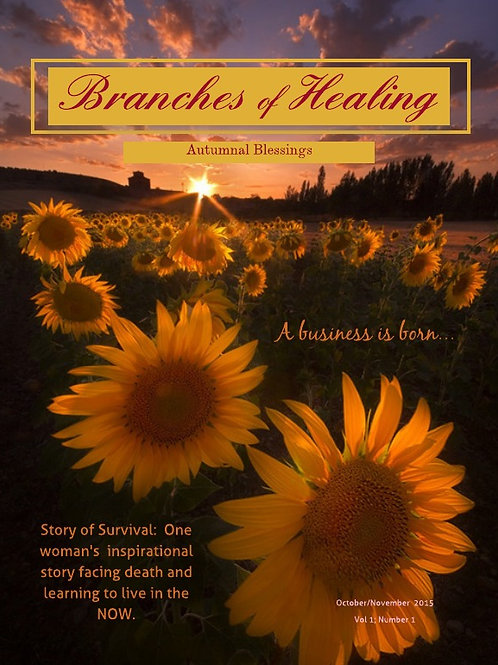 October/November 2015 Branches of Healing Magazine