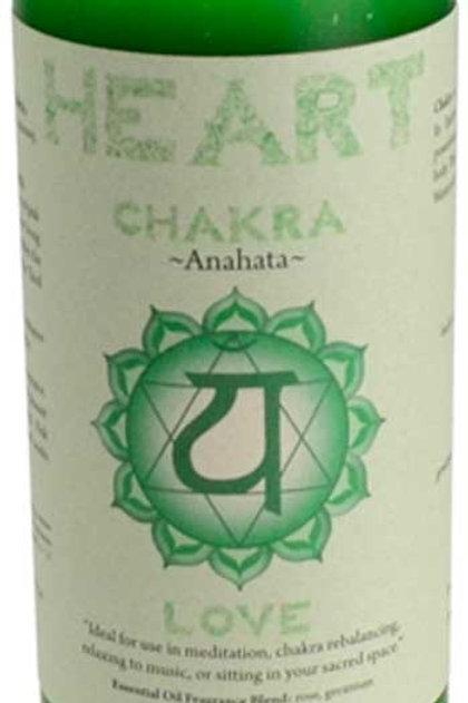 Heart Chakra Pillar Candle